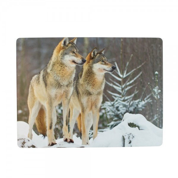 placemat 2 wolven (4)*